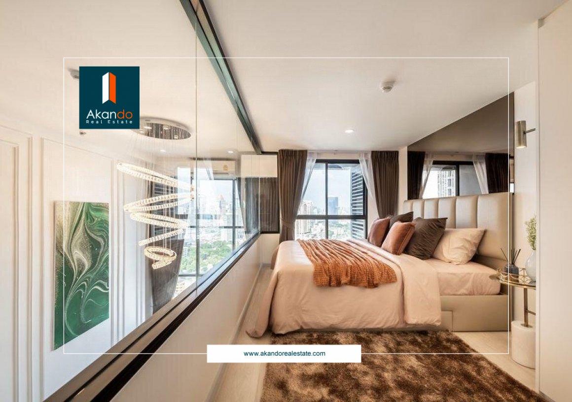 Duplex 1 Bedroom Knightsbridge Prime Sathorn Condominium, Bangkok
